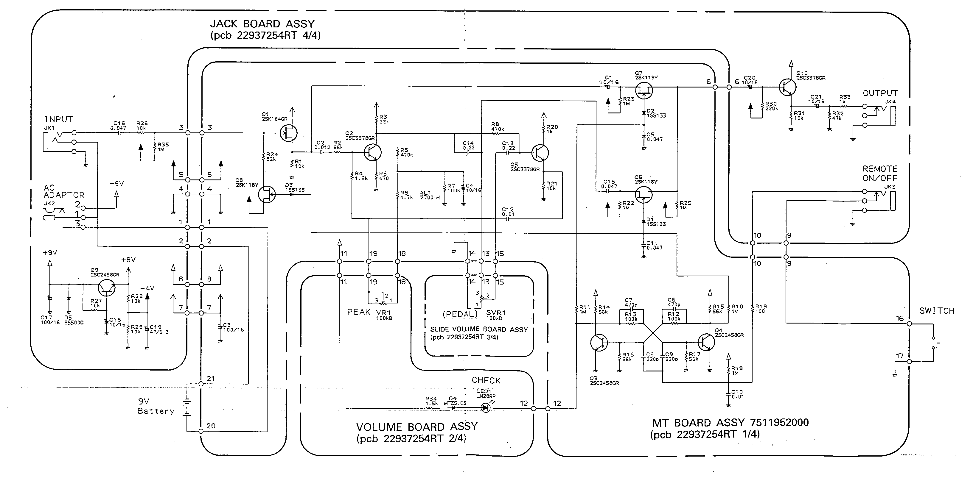BOSS FW-3 Mods – electric-safari