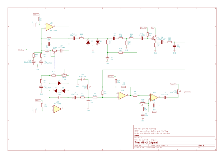 Original OS-2 circuit